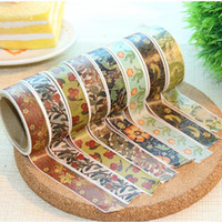 Wholesale Stationery spoon vega meters paper tape pc paper Decorative tape tape adhesive tape