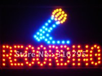 Gros-led109-r Enregistrement On Air Microphone Decor Led Neon Sign