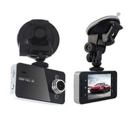 Wholesale Car DVR K6000 P HD Degree quot LCD TFT Video Recorder LED Car Camcorder Rear View Camera DHL FREE