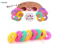 Wholesale 2015 Newest Fashion Arrival Lucky Curly Flexi Hair Curls Roller Twist Styling Donuts Tools Hair Accessories For Women S0140268