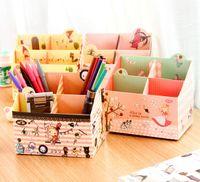 stationery - Clean Up Makeup Desktop Container Storage Box Organizer Case