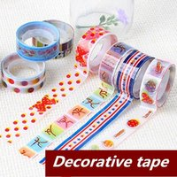 scrapbooking supplies - 40 Decorative Adhesive tape Stationary stickers Novelty tools for scrapbooking foto School supplies