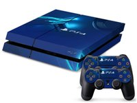 Cheap PS4 0110 DECAL SKIN PROTECTIVE STICKER for SONY PS4 CONSOLE CONTROLL