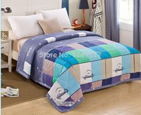 Wholesale promotion price cotton high grade summer quilt