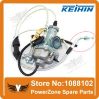 Wholesale Genuine KEIHIN mm Carburetor Accelerating Pump Racing Performance cc cc IRBIS TTR Carburetor Dual Throttle Cable