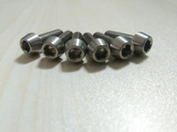 Wholesale 6Pcs Titanium Bike Stem Bolts M5 x