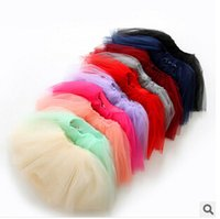 Wholesale Children s tutu skirts baby girls party skirts Princess tulle skirt long veil skirts Baby Ball Gown Skirt Cute Sweet Candy color skirts