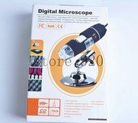 Práctico USB Nueva 2MP cámara 8 LED Digital 500X del endoscopio del microscopio de la lupa de envío gratuito