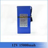 12v surveillance camera - 12V mAh Wireless Surveillance Cameras Special Rechargeable Li ion Battery for CCTV DC Camera Batteries