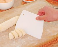 Wholesale Pastry Bread Dough Pizza Trapezoidal Scraper Made Cake Decorating Baking X cm New