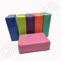 Wholesale 500PCS HHA704 Hot Lady Yoga Pilates Foam Foaming Block Brick Stretch Aid Health Fitness Exercise Gym
