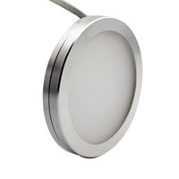 Cheap 12V DC 3W Dimmable LED Under Cabinet Lighting Puck Light Warm White Cool White for Kitchen Counter Down Lighting Aluminum Alloy