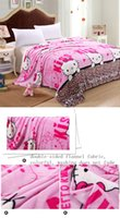 Wholesale 2016 HOT New Thickening warm snuggie coral fleece frozen blanket on the bed manta para sofa50 cm couverture polaire