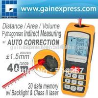 Wholesale Professional Portable Digital Distance Meter Area Volume Laser Range Finder Accuracy mm m ft Measure Range