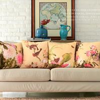 impressão de arte chinesa tecido de camurça almofada fronha cobrir decorativa Sofa Pillow Almofada / fronha / simulacro de travesseiro