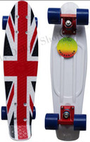 Cheap Wholesale - 2015 New Designs 22 inch Penny Skateboard for Chrismtas Penny Nickel Penny Cruiser Plastic Skateboard Penny Board