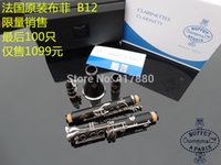 Wholesale Buffet Crampon cie A PARIS Clarinet with Case B12