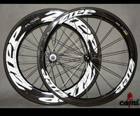 bicycle free hub - C Front mm Rear mm clincher wheels road bike full carbon bicycle wheelset with Powerway R36 hubs