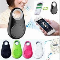 android phone finder gps - 50pcs Retail Tag Wireless bluetooth Anti lost alarm Tracker key finder GPS Locator for pets kids for iPhone plus Samsung Android