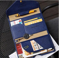Wholesale 2016 colorful Christmas gift card holders Tripping wallet Donbonk Crown Smart case bag Cover for travel passport purse for man woman dhl