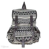 achat en gros de sacs aztec-Vente en gros-New 2015 Aztec sac à dos Tribal d'impression, Sac Vintage sac d'école étudiant, sacs à dos enfants, WB2-08