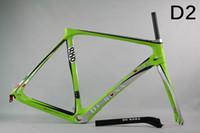 carbon fiber bicycle frame - 2016 carbon road frame T1000 SKY team carbon road bike frame frameset glossy finish Carbon fiber bicycle frame BB68 BB30 complete road bike