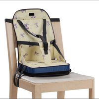 Wholesale Baby Feeding Chair with Bag Booster Seat Toddlers Dining High Chair Dinner Seat Fold up Safty Belt Infant Eating Chair CM