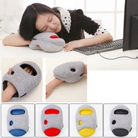 Wholesale 2016 NEW Ostrich Pillow Mini Mini Glove Piilow Arm Snapping Pillow Colors With retail packaging