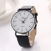Wholesale Dalas Multiple Color Vintage Stainless Steel Fashion Pu Leather Strap Male Clock Relogio Quartz Casual Wrist Watch Men XR612