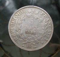 bb live - SET PC A K D BB Francs France Coin FOR COLLECTION ONLY
