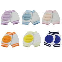 Wholesale 1 Pair New Hot Kids Baby Safety Crawling Elbow Infants Toddlers Knee Pads Protector SHM