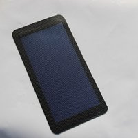 amorphous solar - High Qaulity W V Flexible Solar Cell Amorphous Silicon Foldable Very Slim Solar Panel MM Diy Phone Charger