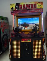 arcade game machine - Stallone large simulation console rambo shooting game Large coin game consoles Video game entertainment machine large entertainment console