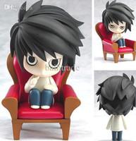 Wholesale Japanese Animation COOL Japanese Amine Death Note L Lawliet cm Figure Box Set