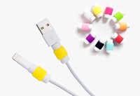 Wholesale 2016 USB Lightning Data Charger Cable Saver Protector Headset Earphone Wire Cord Protective For iPhone S S Plus ipad ipod Samsung