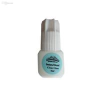 Wholesale CrownLash Eyelash Extension Instand Bond Clear glue Color Lash glue Eyebrows extension glue ml Crown Lash