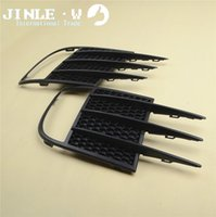 Wholesale Replacement Parts Front Radiator Grills New A Pair Of Front Bumper Lower Side Grill Fog Lamp Fog Light Grilles Fit For VW