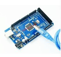 avr cable - Free shiping Best prices MEGA R3 ATmega2560 AVR USB board free USB cable ATMEGA2560 atmega16u2 funduino