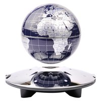 Wholesale New inch LED light magnetic levitation floating globe anti gravity rotation home decoration gifts crafts