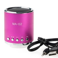 Wholesale HOT Rechargeable Portable Mini Speaker For Laptop Iphone MP3 Phone Radio TF Mini SD L01388
