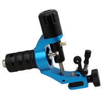 Wholesale Top Quality Blue Hummingbird Rotary Tattoo Machine Powerful Swiss Motor Brass Needle Retainer For Liner Shader
