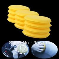 Wholesale Tools For Clean Car Vehicle Glass Polish Wax Foam Sponge Applicator Pads Waxing