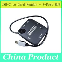 Wholesale Usb Comob Type C Multil card reader Hub Gbps High speed support windows XP Macbook number inch PC Tablet
