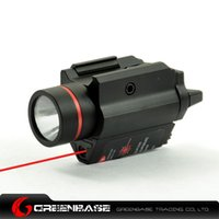Wholesale Tactical Full Metal Flashlight Red Laser combo NGA0167
