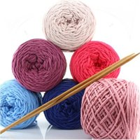 Wholesale Yarn For Knitting Hot Sale Colors Natural Soft Cotton Skein Thread To Knit Multi strand Wire PWX117