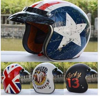 Wholesale 2015 motorcycle helmet capital rebel star torc helmet skiing skating champion helmet open face retro vintage helmets motocicleta arai