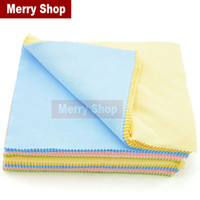 Wholesale Colorful cotton microfiber sunglasses cloth reading glasses cleaning cloth eyeglasses case glasses purch