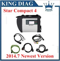 Wholesale 2015 MB Diagnostic tool for Benz MB Star New Compact Version support over languages SD Connect C4 with WIFI