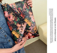 Wholesale 2016 New Fashion Women s Synthetic Leather Messenger Bag Envelope Bag Day Clutche Purse Evening Bag