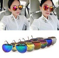 Cheap Colorful Sunglasses Reflective Sunglasses For Men and Women Fashion Sunglasses
